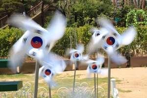 Güney Kore Dönen Bayraklar