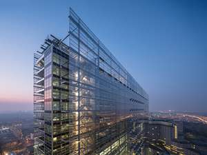 Avrupa Patent Ofisi'nin Hollanda Rijswijk'deki Tasarım Ödüllü Binası