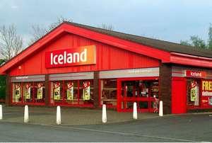 Iceland Süpermarket görünümü