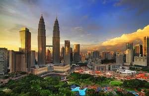 The Petronas Towers, Kuala Lumpur, Malaysia