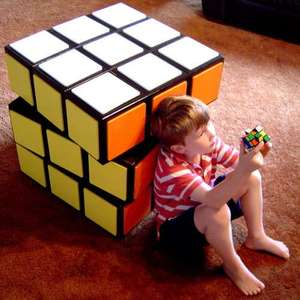 Rubics Cube and Child